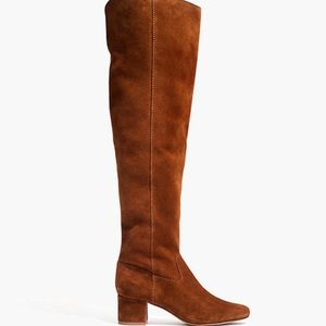NWOT Madewell Walker Suede Over the Knee Boots
